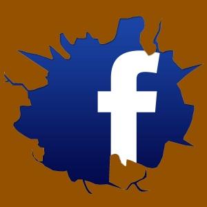 Cracked-Facebook-Logo x