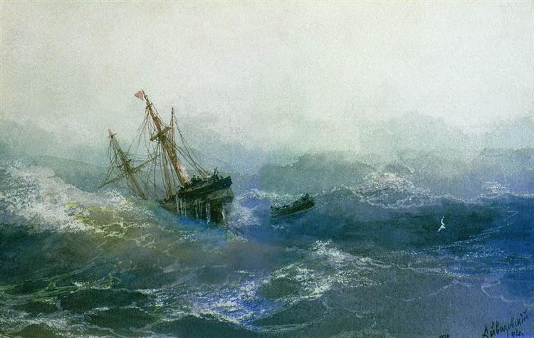 skeppsbrott b